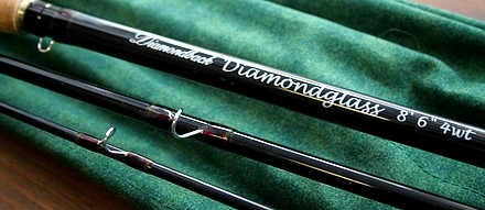 The Diamondglass 8.5' 4wt