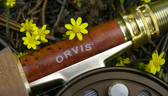 Orvis Superfine Touch reel seat