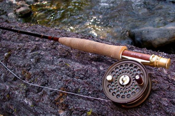 Orvis Superfine Touch 8' 4wt fly rod