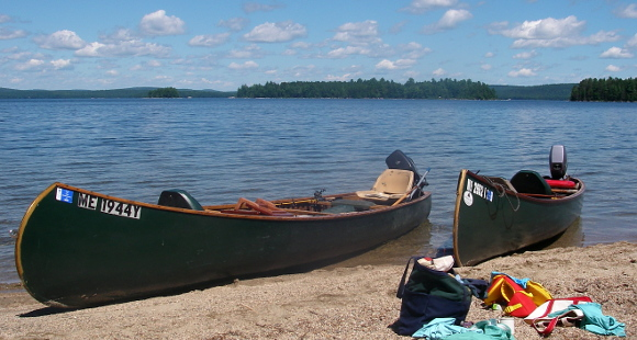 Home From Maine (or, Dad Serves As Bobber) - Yobi Adventures