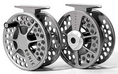 The Lamson Konic Fly Reel; $129